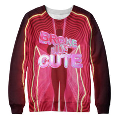 Broke but cute sweatshirt