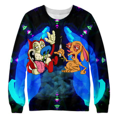 Cartoon sweatshirt