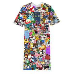 Cartoon Network Long T-shirt