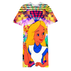 Alice LSD long T-shirt