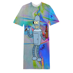 Bender long T-shirt