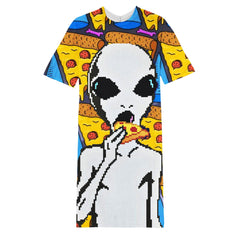 Alien long T-shirt