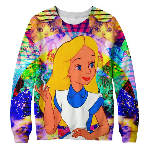 Alice LSD sweatshirt