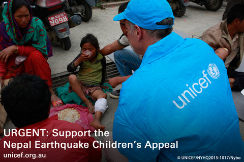 UNICEF, Support Nepal