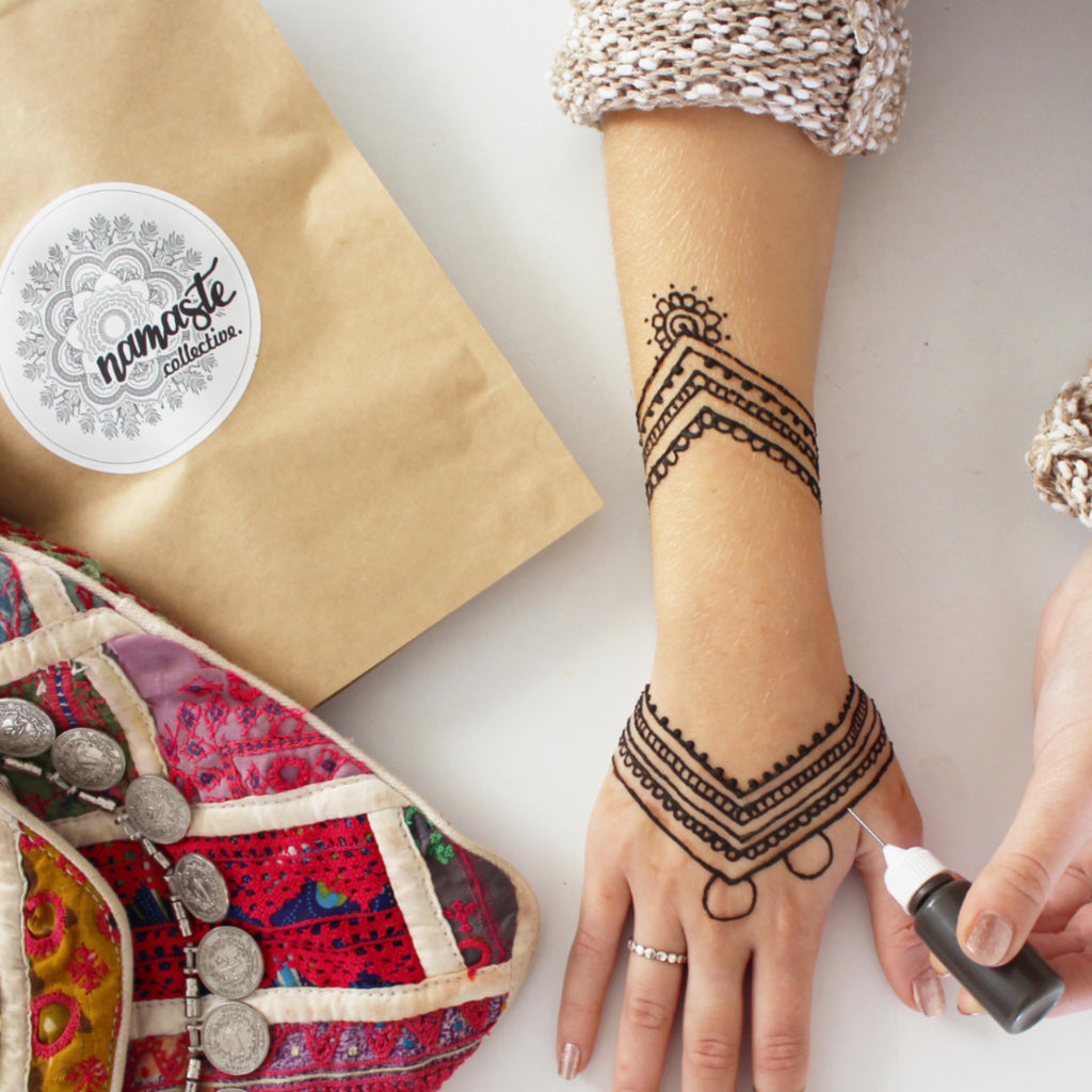 Natural Henna Kits Namaste Collective Natural Henna Kits
