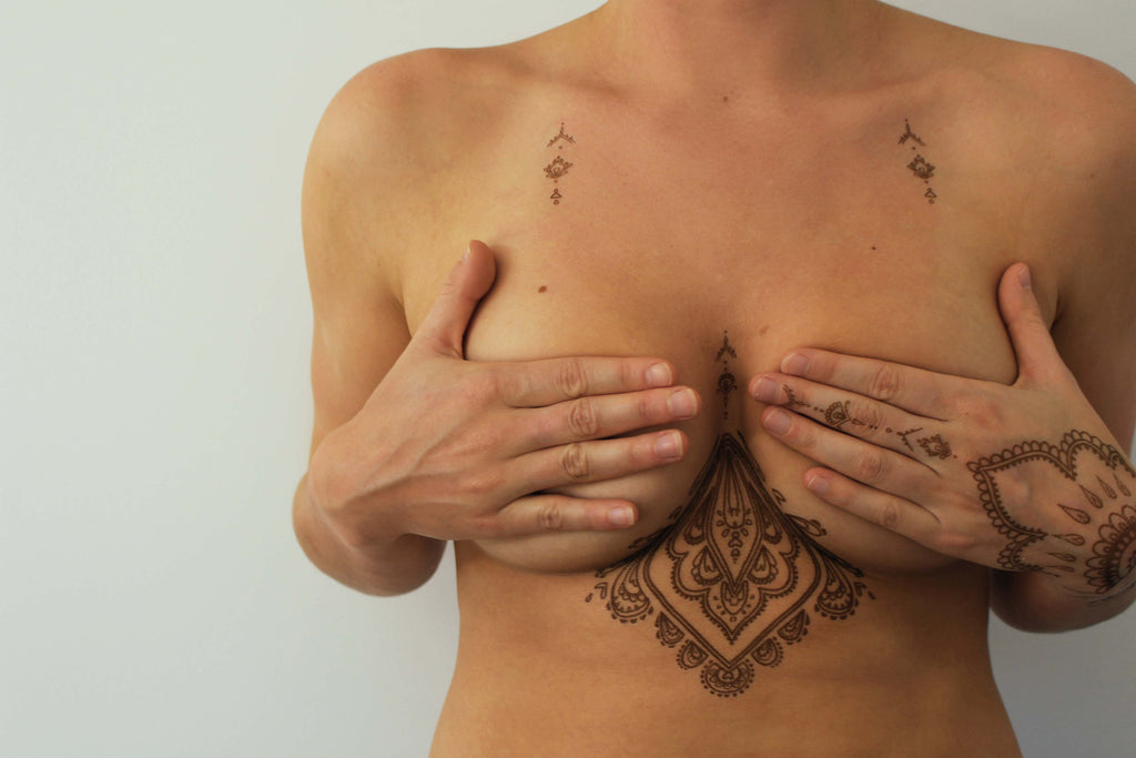 Brown Henna Flash Tattoo - Namaste Collective - 6