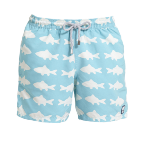 Blue & White Fish (Boys) | Tom & Teddy