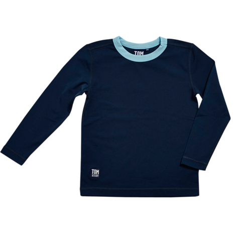 Navy Blue L/Sleeve