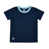 Navy Blue S/Sleeve