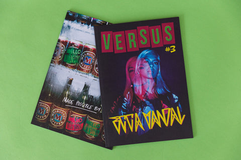 Versus Zine #  Ecca Vandal (Shipping included Australia Wide)