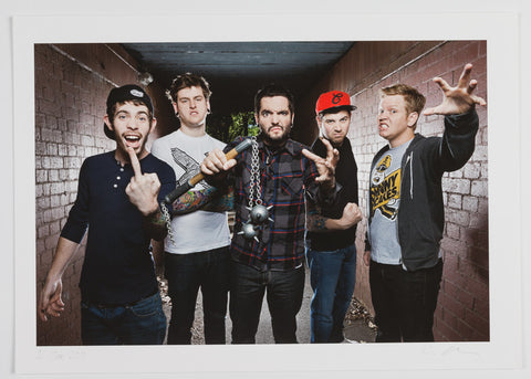 A Day To Remember A2 Print