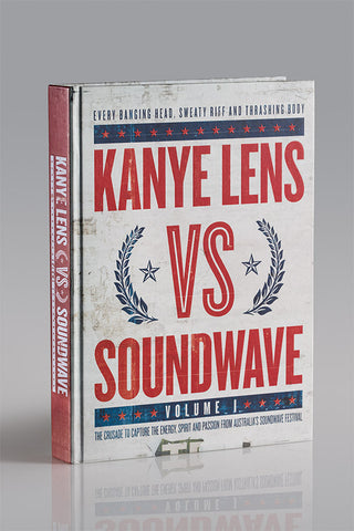 Kanye Lens Vs Soundwave Volume 1 Ltd Edition +  Free Badge + Bookmark Bundle