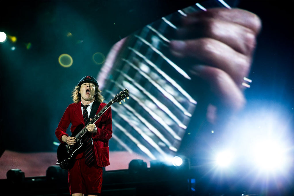 Angus Young AC/DC A2 Limited Edition Print