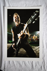 James Hetfield Metallica Colour A2 Print