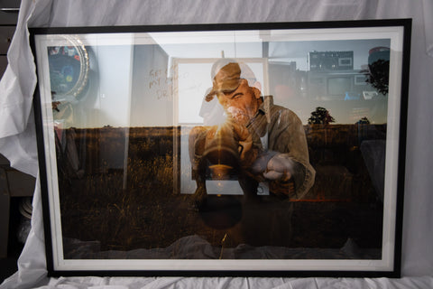 Ross Knight Cosmic Psychos 30 x 44 inch Print Framed & Autographed