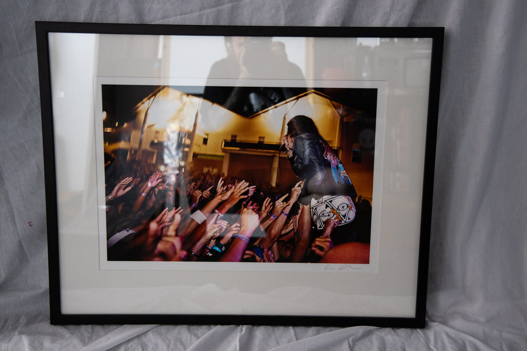 Bring Me The Horizon A2 Print Framed