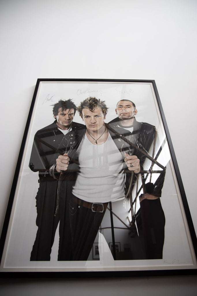 The Living End 30 x 44 inch Print Framed