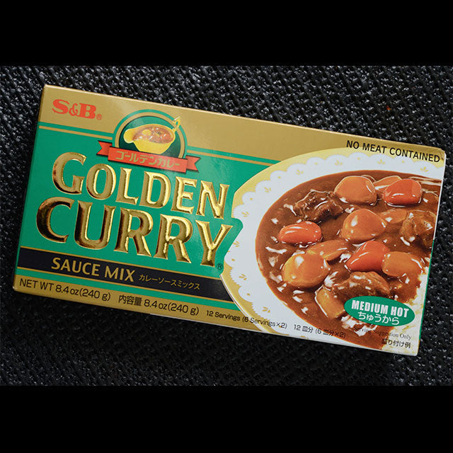 S&B GOLDEN CURRY MIDIUM HOT