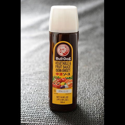 BULLDOG SEMI-SWEET SAUCE  500ML