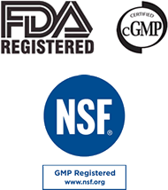 FDA Registered | cGMP certified
