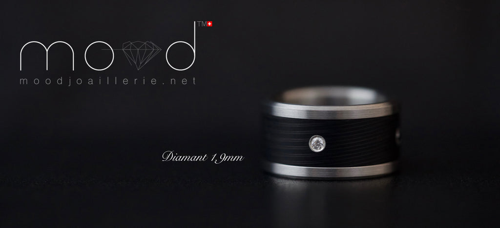 Ring - Sertissage De Diamant Sur Addon En Full Carbon