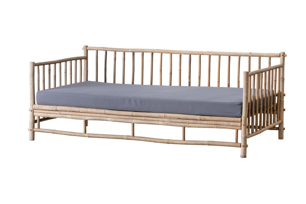Överdrag till Daybed sofa i bambu - Light Grey