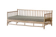 Cover for Bamboo daybed sofa - SWEET OLIVE