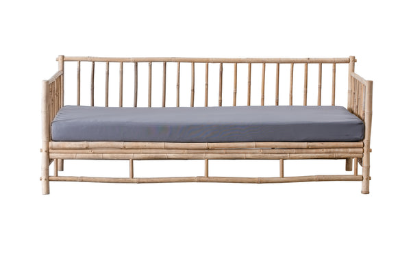 Cover til Bambus Daybed sofa - LIGTH GREY