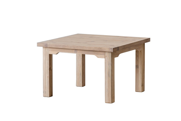 Scandinavian line lounge table i bambu 70LX70BX45H
