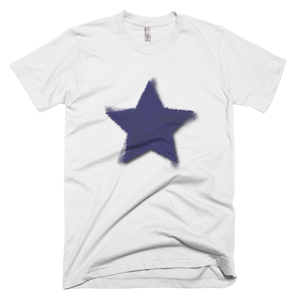 Blue Star Challenger Men T-Shirt ♂