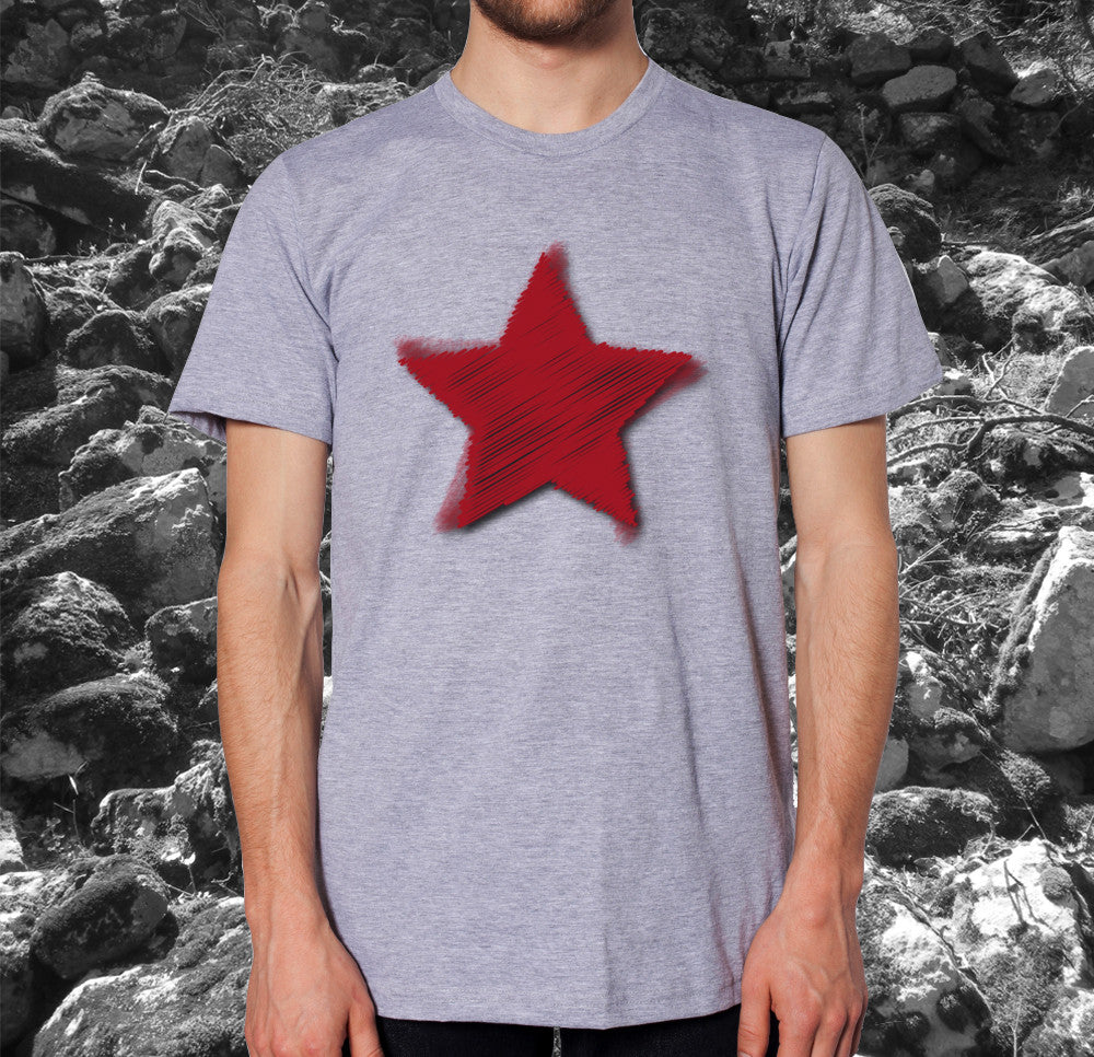 Red Star Challenger Men T-Shirt ♂
