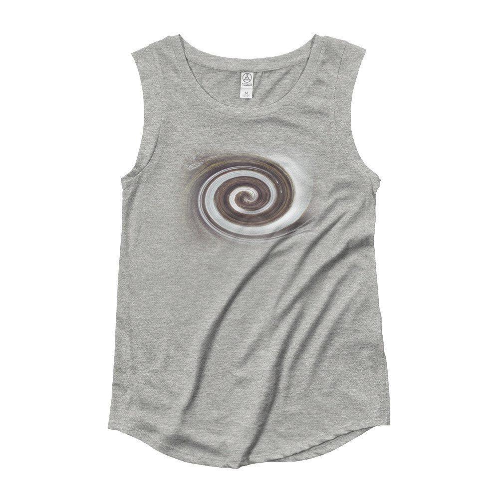 Vortex Ladies' Cap Sleeve T-Shirt