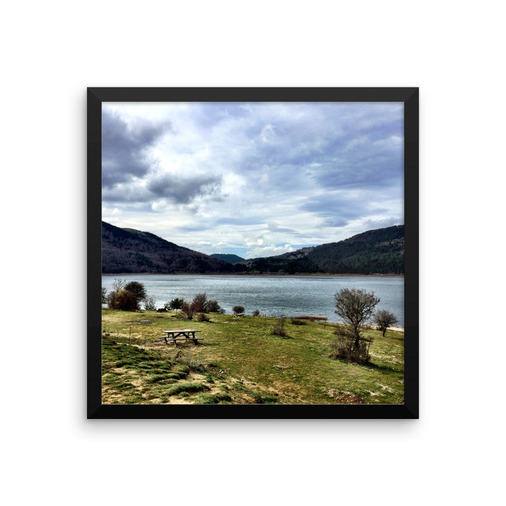 Tranquility Framed poster
