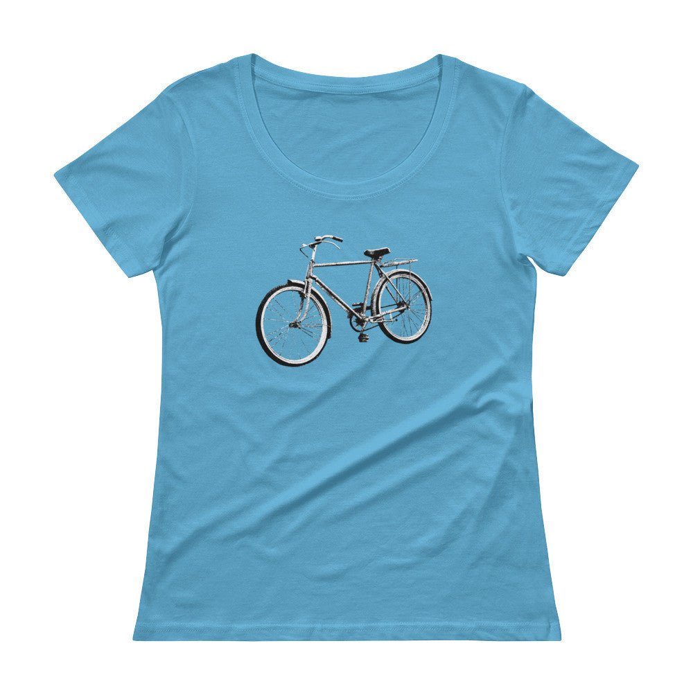 Bike Ladies' Scoopneck T-Shirt