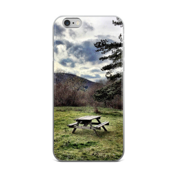 I wish I was there iPhone case