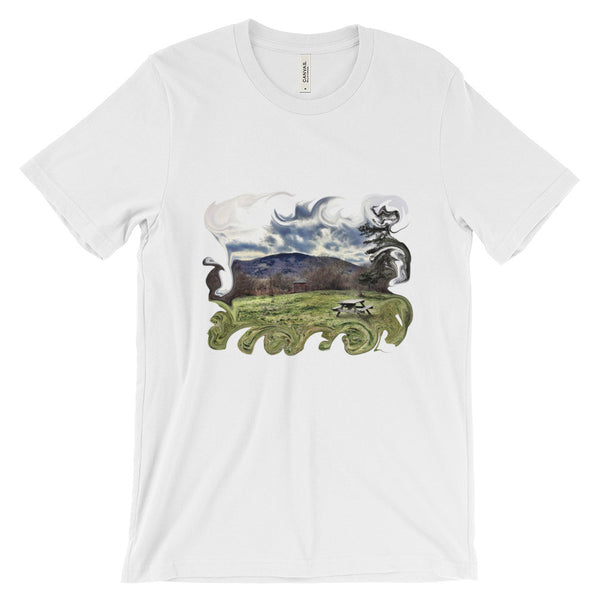 Nature Walk Unisex short sleeve t-shirt