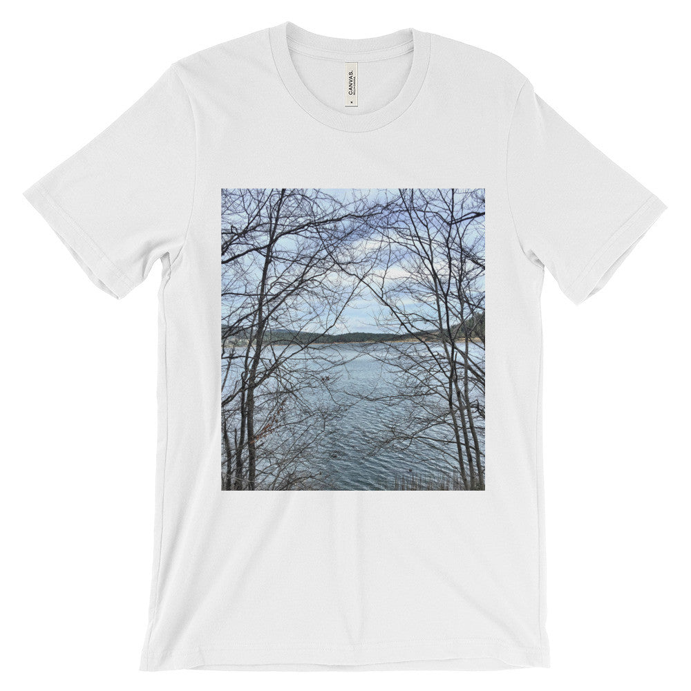 Through Naked Branches Unisex short sleeve t-shirt