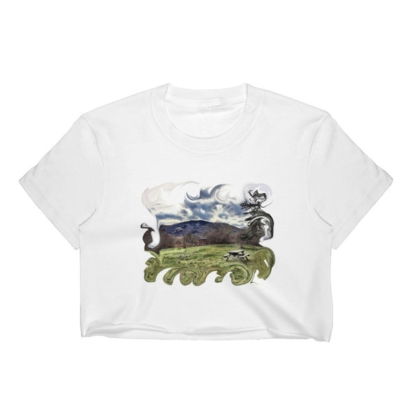 Nature Walk Women's Crop Top