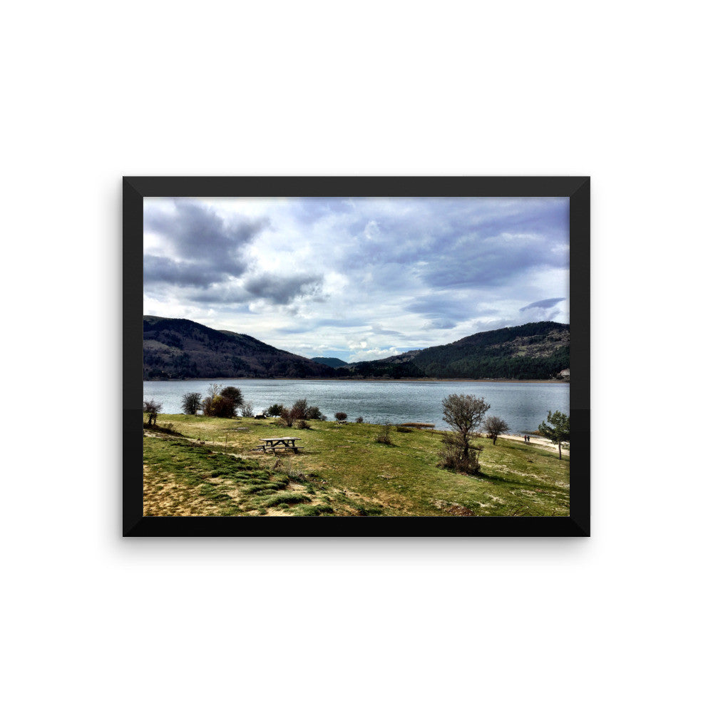 Tranquility Framed photo paper poster