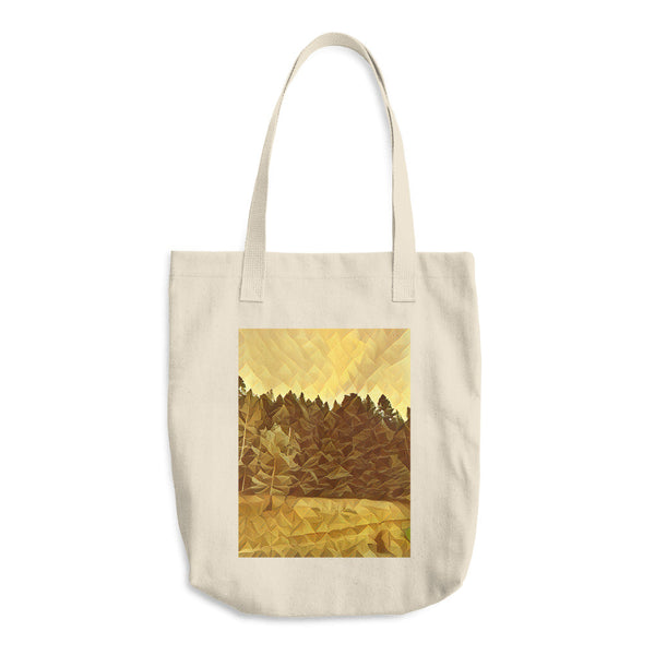Crystalized Cotton Tote Bag
