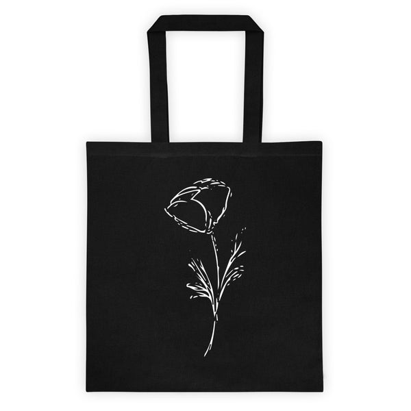 Solo Black Tote Bag