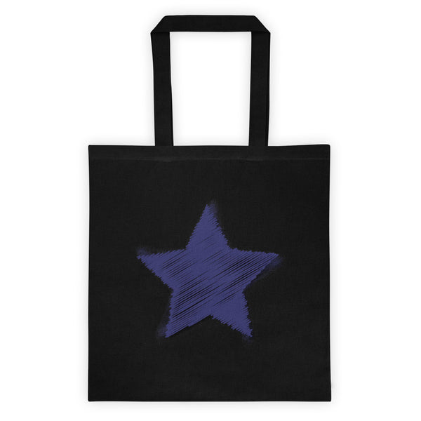 Blue Star Challenger Tote Bag