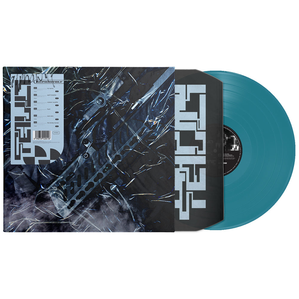 Alpha Wolf - Fault LP (Turquoise)