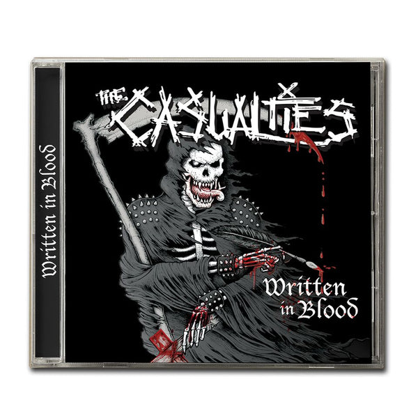 The Casualties - Written In Blood CD