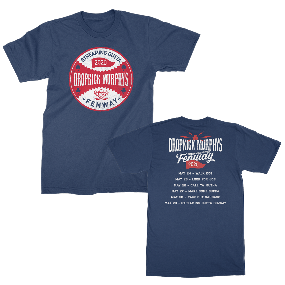 Dropkick Murphys - Series Seal Tshirt (Navy)
