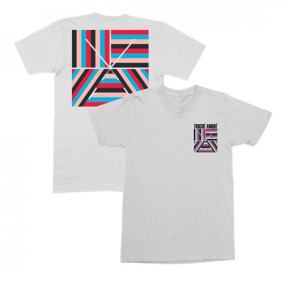 Touche Amore - 10 Years Logo Tee (white)