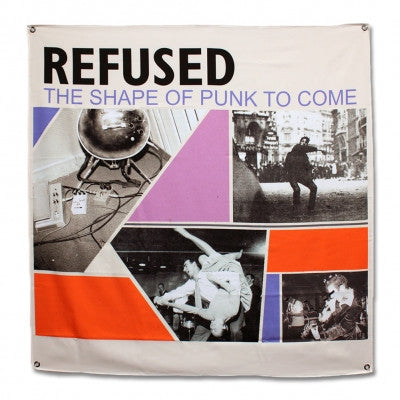 Refused Shape of Punk Flag