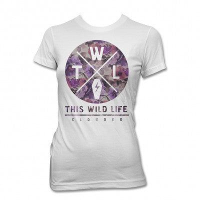 This Wild Life Clouded Floral Womens
