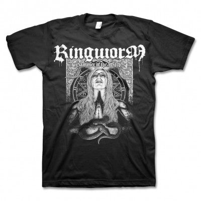 Ringworm Snake Woman T-shirt