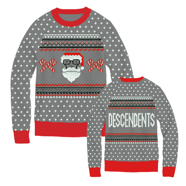 Descendents - Santa Milo 2019 Sweater (Grey)